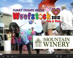 YouTube - Woofstock 2012 at The Mountain Winery