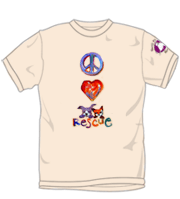 Love Peace Rescue T-Shirt