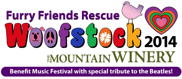 Furry Friends Rescue, Woofstock 2014 @ The Mountain Winery - Benefit Music Festival with special tribute to the Beatles!