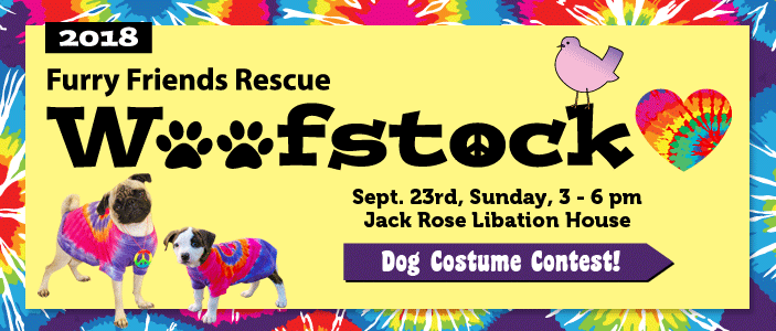 Furry Friends Rescue, Woofstock 2018