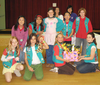 Girl Scout Troop in Saratoga