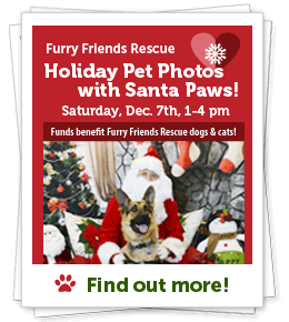 FFR, Pet Photo with Santa Paws & Holiday Photos! Dec. 7th